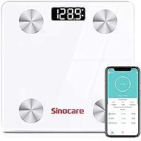 Sinocare Digital Bluetooth Bathroom Smart BMI Scale