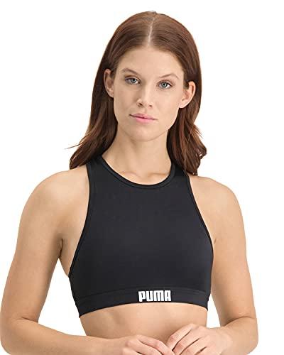 PUMA Frauen Racerback Swim Top Bikini...