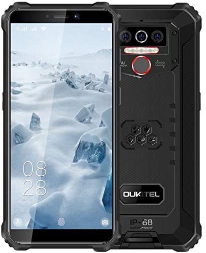 61 opinioni per 4G Rugged Cellulare (2020) OUKITEL WP5,