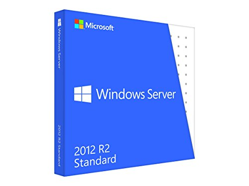 Vollversion Windows Server Standard 2012 R2/ 64-bit/ deutsch / DVD / 5 Clt