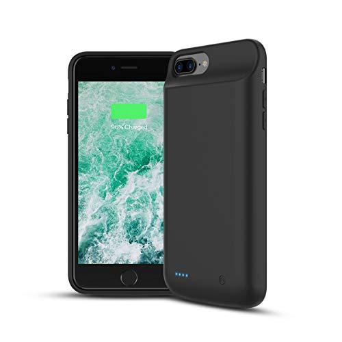 Wellwerks Funda Batería 8000mAh Externa Batería para iPhone 8 Plus /7P /6P /6SP