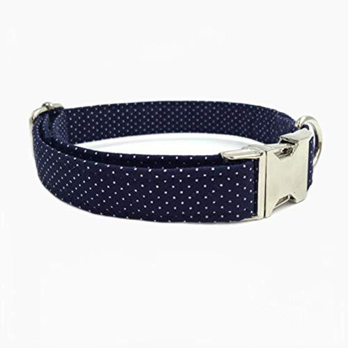 FANJIA Collar De Perro Dot Collar De PerroPajaritaPersonalizado Ajustable Collar De Perro Mascota Cachorro Diseñador Producto Perro Y Gato Collar XS-XL Accesorios para Mascotas