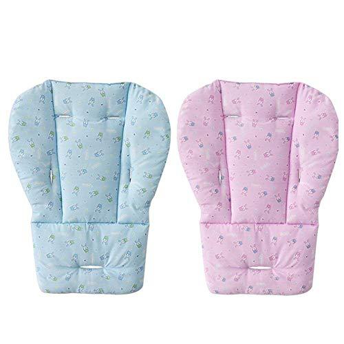 Hemore Baby Sitzkissen Einlage Matte Pad Bezug für Kinderwagen Auto Hochstuhl Atmungsaktiv Wasserdicht Liner Matte Pad Protector 1 Stück Rosa Gesundheit Baby Pflege