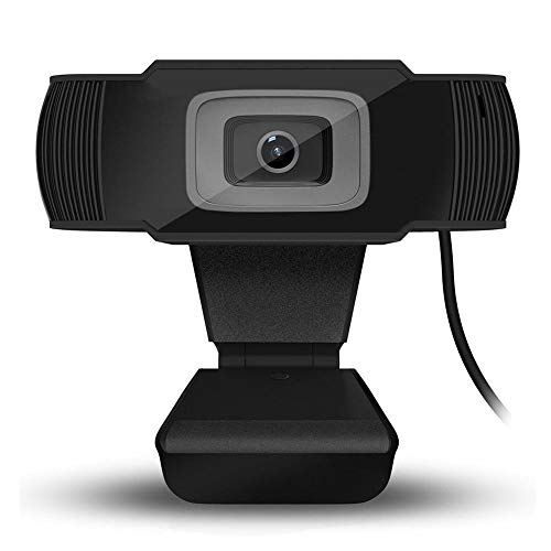 1080P HD Webcams voor Online Vergaderen, Mini-webcam met Ingebouwde Microfoon, Live Streaming Webcam voor Pc-computers Laptop TV Camera LCD-monitor