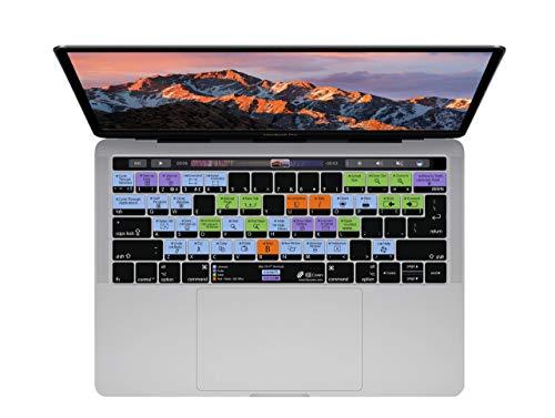 KB Covers MCOS-MTB-DE OS Shortcut Tastatur Abdeckung für MacBook Pro klar