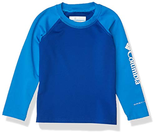 Columbia Sandy Shores Longsleeve Sunguard Unisex Manga Larga, Infantil, Azul, Azul Azul, M