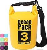 XENOBAG Wasserfeste Tasche 3 Liter/Dry Bag, klein/Ocean Pack 3l / wasserdichter Beutel/Drybag mit...