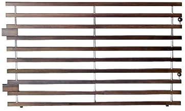 ペット用パーテーション サークル可 カコイ 75-10段 モカ 幅77cm 高さ57cm インテリア オシャレ
