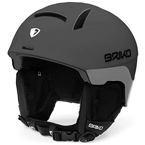 Briko Canyon Ski-/Snowboardhelm, Unisex, Erwachsene, Unisex-Erwachsene, 2001LG0, grau, ML