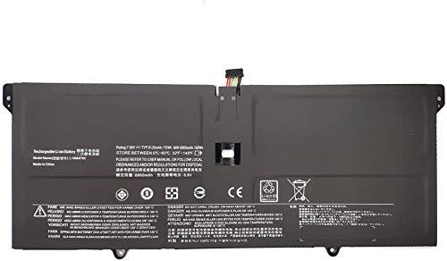 ASKC L16M4P60 Laptop Battery for Lenovo Ideapad Flex Pro-13IKB Yoga 920 920-13IKB Glass 920-13IKB-80Y7 80Y8 81TF Yoga 6 Pro 13IKB 5B10N01565 5B10W67249 L16C16C16C16C16 4P61. 5B10N17665 70Wh 4-Cell