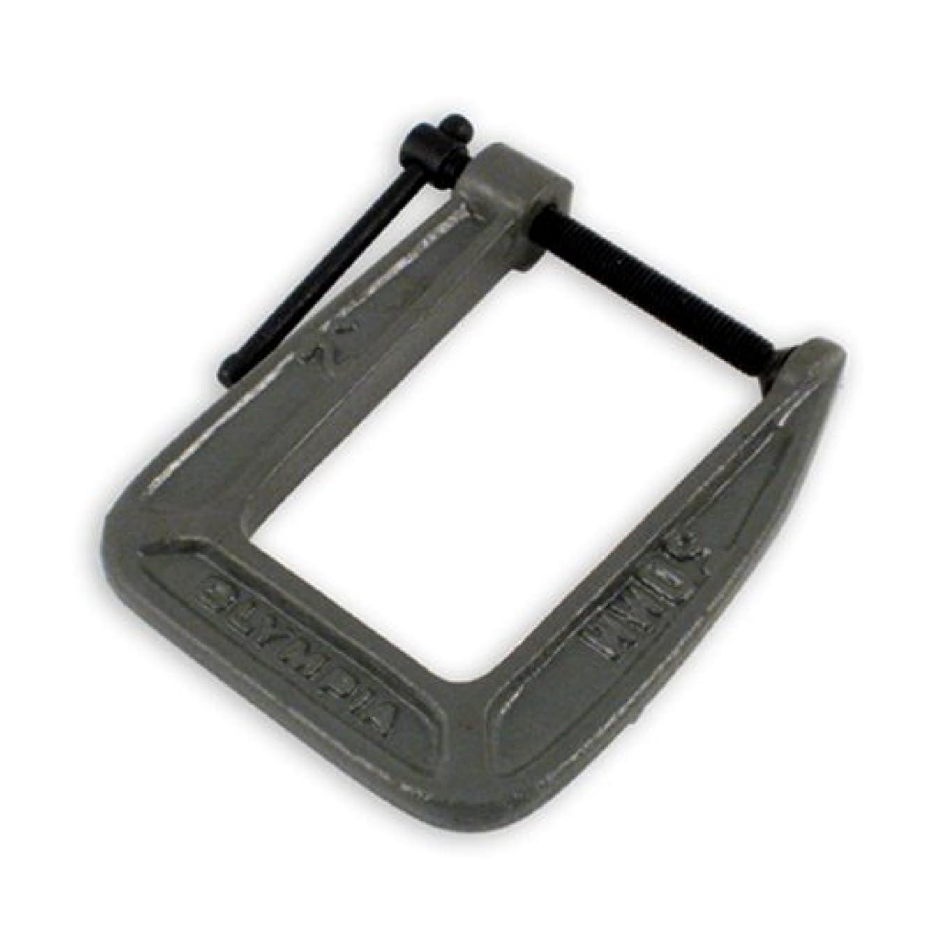 アロングクスクス気晴らしOlympia Tools 38-123 2-Inch by 3-1/2-Inch C-Clamp [並行輸入品]