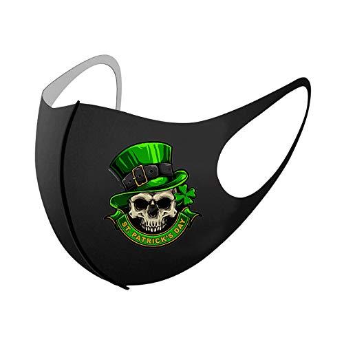 Día De San Patricio En Irlanda Mascarilla Desechable Máscara Protectora De Tres Capas De Impresión Adulta Hombres Y Mujeres Industrial 3Ply Ear Loop Para Actividades Fiesta Al Aire Libre