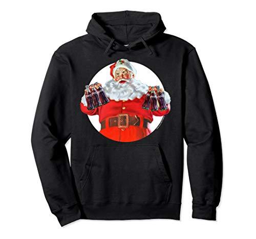 Coca-Cola Christmas Santa Claus Pullover Hoodie