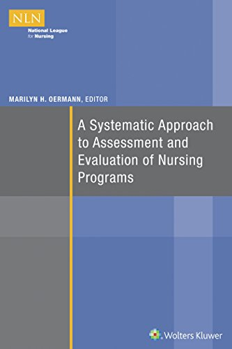 A Systematic Approach to Assessment and Evaluation of Nursing Programs (NLN)