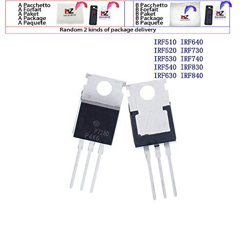 bzcemind 10 STÜCKE IRF510 IRF520 IRF530 IRF540 IRF630 IRF640 IRF730 IRF740 IRF830 IRF840 Transistor TO-220 TO220,IRF520