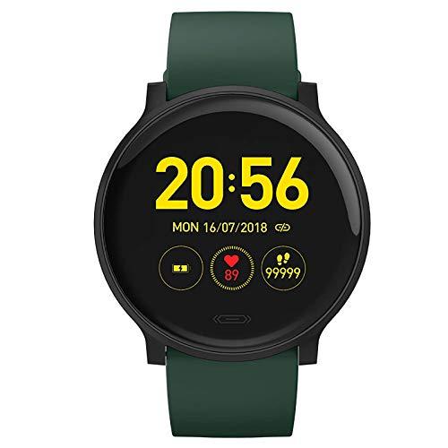 XINGLEI [Modelo más Nuevo en 2021] Reloj Deportivo Inteligente, frecuencia cardíaca, sueño, monitorización de la presión Arterial, Llamada y recordatorio SMS, múltiples Modos Deportivos