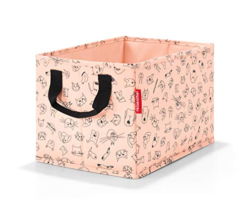 Reisenthel storagebox kids cats and dogs rose Kulturtasche, 34 cm, 18 Liter, Cats and Dogs Rose