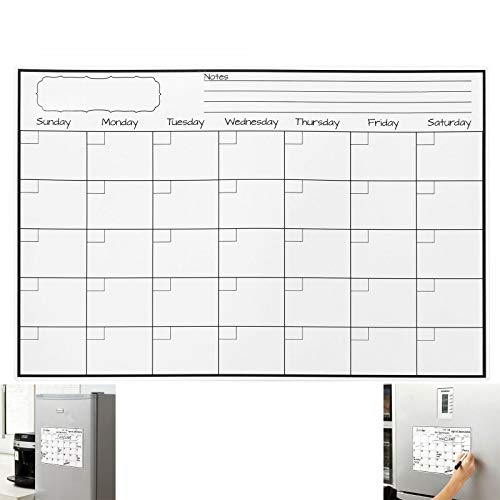 Walgreen Fridge Magnet Calendar Dry Erase Whiteboard Weekly Monthly Planner to Do List UK