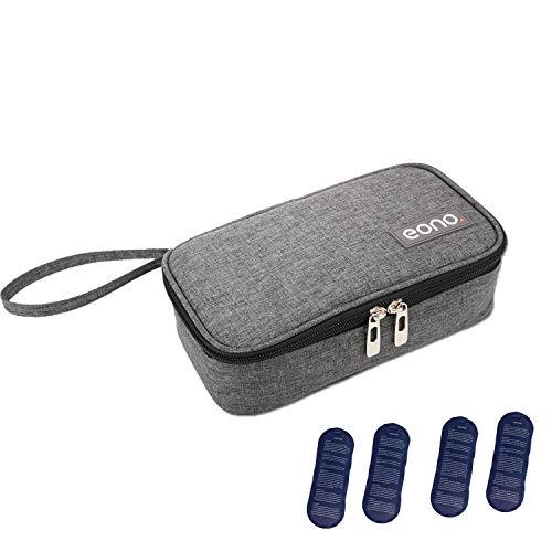 borsa termica medicinali Eono by Amazon - Borsa Termica per Mantenere l'insulina e medicinali