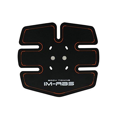 IMATE Elettrostimolatore Muscolare Addominali Elettrostimolatore Cintura Addominale Attrezzi AB Trainer
