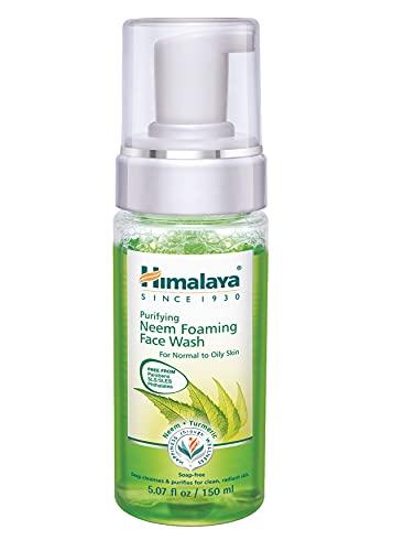 Himalaya Herbals Purifying neem Foaming Face Wash previene dentellatura...
