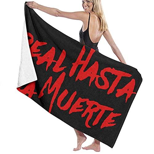 DJNGN Real hasta La Muerte Toallas de baño SPA Hotel Piscina Super Suave y de Alta absorción