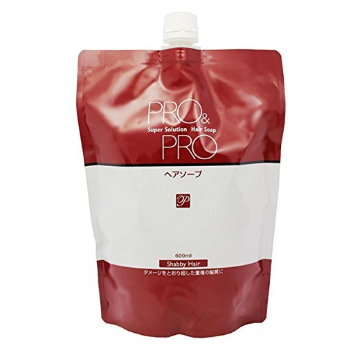 PACIFIC PRODUCTS PRO & PRO | Shampoo | Super Solution Hair Soap Refill 600ml (Japan Import) by PRO & PRO
