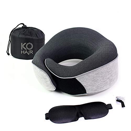 Het speciale Kö-Hair nekkussen ondersteunt je bij je ontspannen nachtrust na je haartransplantatie.