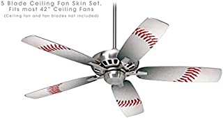 Baseball - Ceiling Fan Skin Kit fits most 42 inch fans (FAN and BLADES NOT INCLUDED)