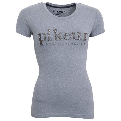 PIKEUR Damen T-Shirt JOAN, grey melange, 38