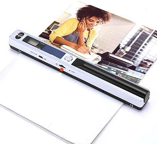 Review Of Photo Scanner Wired Portable Photo Scanner Handheld HD Document Book Scanner Electronic Ve...