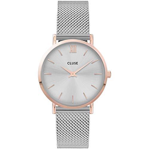 CLUSE Reloj para Mujer de Cuarzo con Correa en Acero Inoxidable CW0101203004