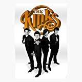Monkees Hollies Band Beliver The Byrds Kinks Kink - The Best and Newest Poster for Wall Art Home Decor Room I - Customize