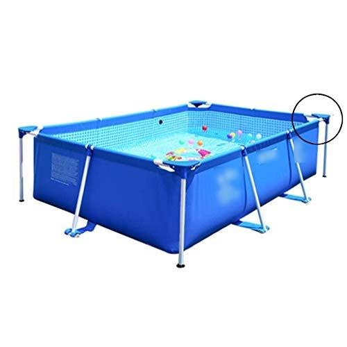 Aufblasbare Pools Rahmen Schwimmbad Pool Kinder Adult Pool Outdoor Familie Planschbecken Aquarium (Color : Blue, Size : 220 * 150 * 60cm)