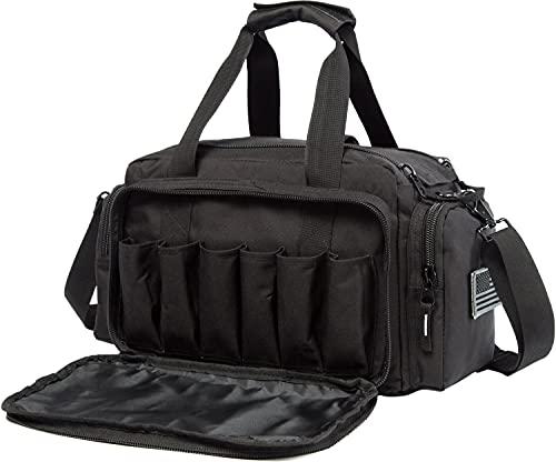 AIRTTUZ Range Bag | Gun Range Duffle Bag for Handguns and Ammo,USA Flag Patch Included....
