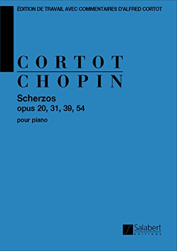Scherzos op 20, 31, 39, 54 piano