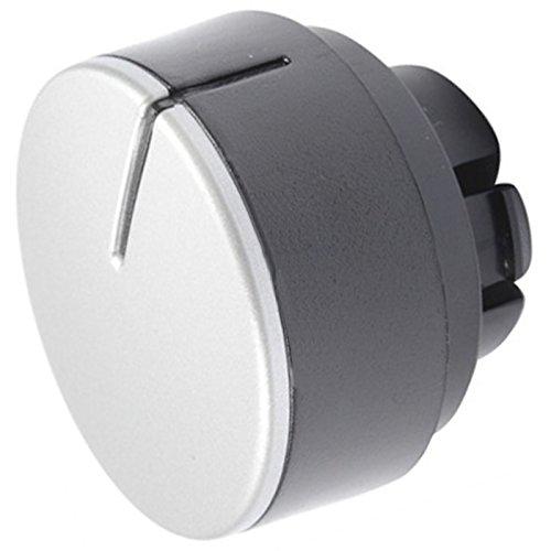 spares2go Einstellknopf Schalter Zifferblatt für Hotpoint aqualtis Waschmaschine/Waschmaschine Trockner (Silber/Schwarz)