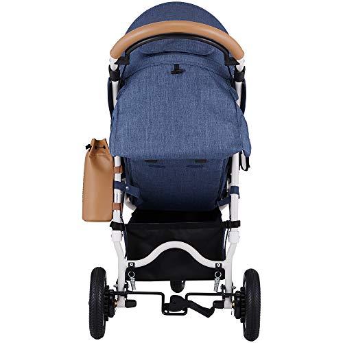 AirBuggy(エアバギー)3輪ベビーカーココブレーキエクストラフロムバースアースブルーA型3輪ベビーカー新生児から使用可能メッシュクッション内蔵・専用レインカバー付きABFB1001