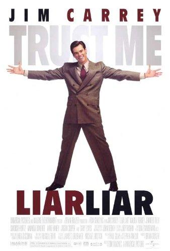 Liar Liar Movie Poster (27 x 40 Inches - 69cm x 102cm) (1997) -(Jim Carrey)(Jennifer Tilly)(Maura Tierney)(Amanda Donohoe)(Swoosie Kurtz)(Justin Cooper)
