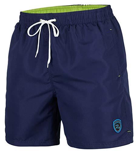 Zagano Adam Lipski - Costume da bagno a pantaloncino, da uomo, 5106 fino a 6XL I Öko-Tex Standard 100 I, prodotto in UE. Navy Blue – Versione lunga XXXXXL