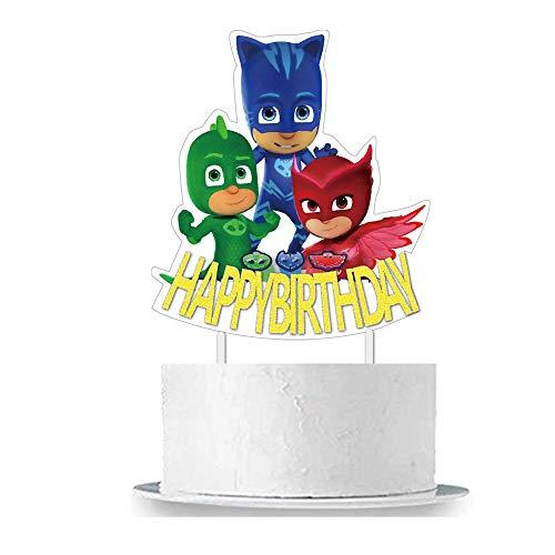 PJ Masks Birthday Cake Topper