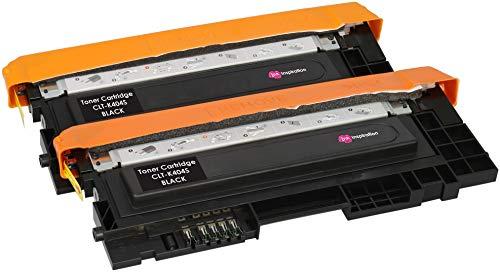 2 Schwarz Premium Toner kompatibel für Samsung Xpress SL-C430 C430W SL-C480 C480FN C480FW C480W | CLT-K404S 1.500 Seiten