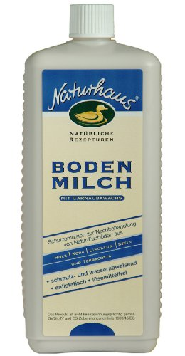 NATURHAUS NATURFARBEN 1 l Bodenmilch, farblos