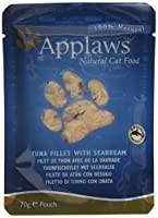 Applaws Tuna with Seabream Pouch is a premium complementary cat food made using only the ingredients listed For cats that deserve to be spoilt Applaws is a completely natural complementary pet food for cats