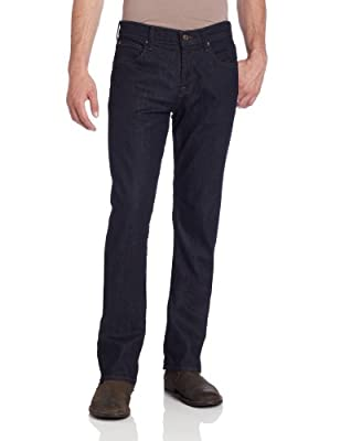 7 For All Mankind Men's Carsen Relaxed Fit Straight Leg Jeans, Dark and Clean, 33W x 34L from Seven For All Mankind Men's Collection