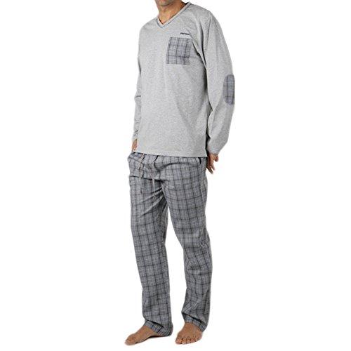 PETTRUS - Pijama Hombre Petrus Hombre Color: Unico Talla: S