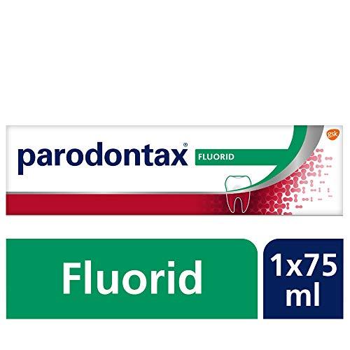 PARODONTAX Fluorid, tägliche Zahnpasta, 1x75ml, bei Zahnfleischbluten