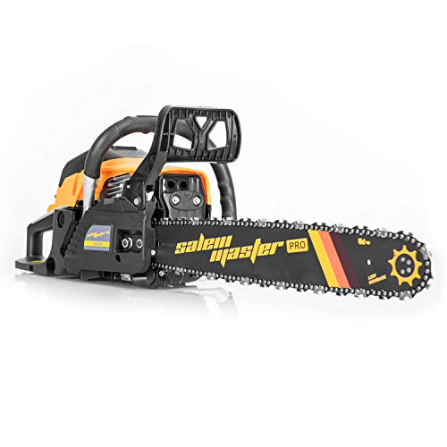 SALEM MASTER 6220G 62CC 2-Cycle Gas Powered Chainsaw, 20-Inch Chainsaw,...
