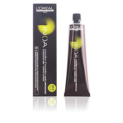 L'Oréal Professionnel Inoa 6,1 donkerblond as, permanente kleuring, ammoniakvrij, geurloos, 60 ml
