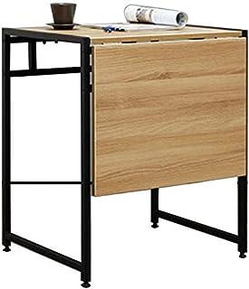 CHHD Nest of Tables Table Basse Blanche Tables d'appoint Table d'ordinateur Portable Double Pliante télescopique en Acier ...